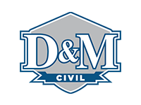 D&M Civil logo
